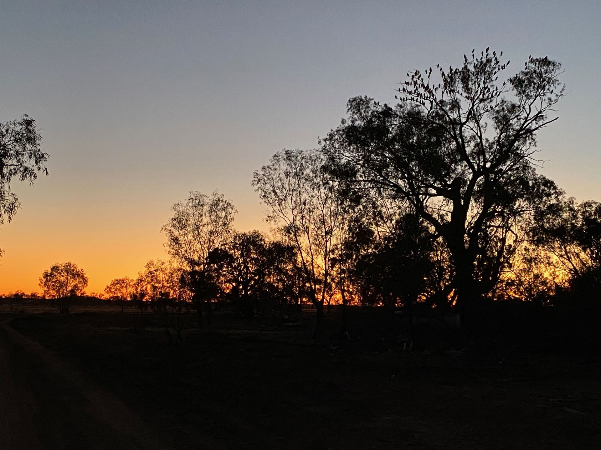 Sunrise on The Darling River